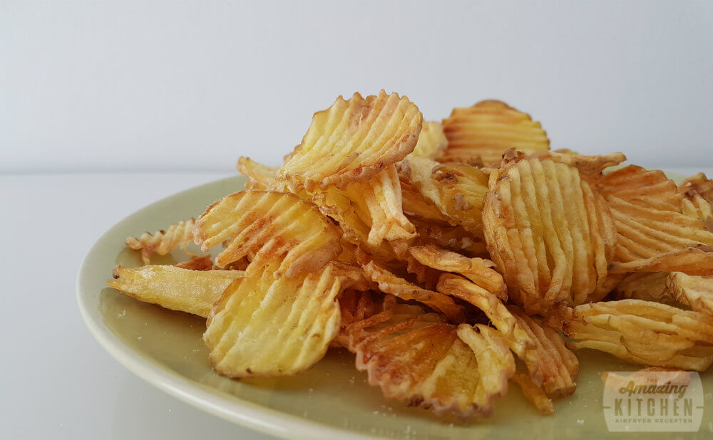 Chips bakken in de airfryer
